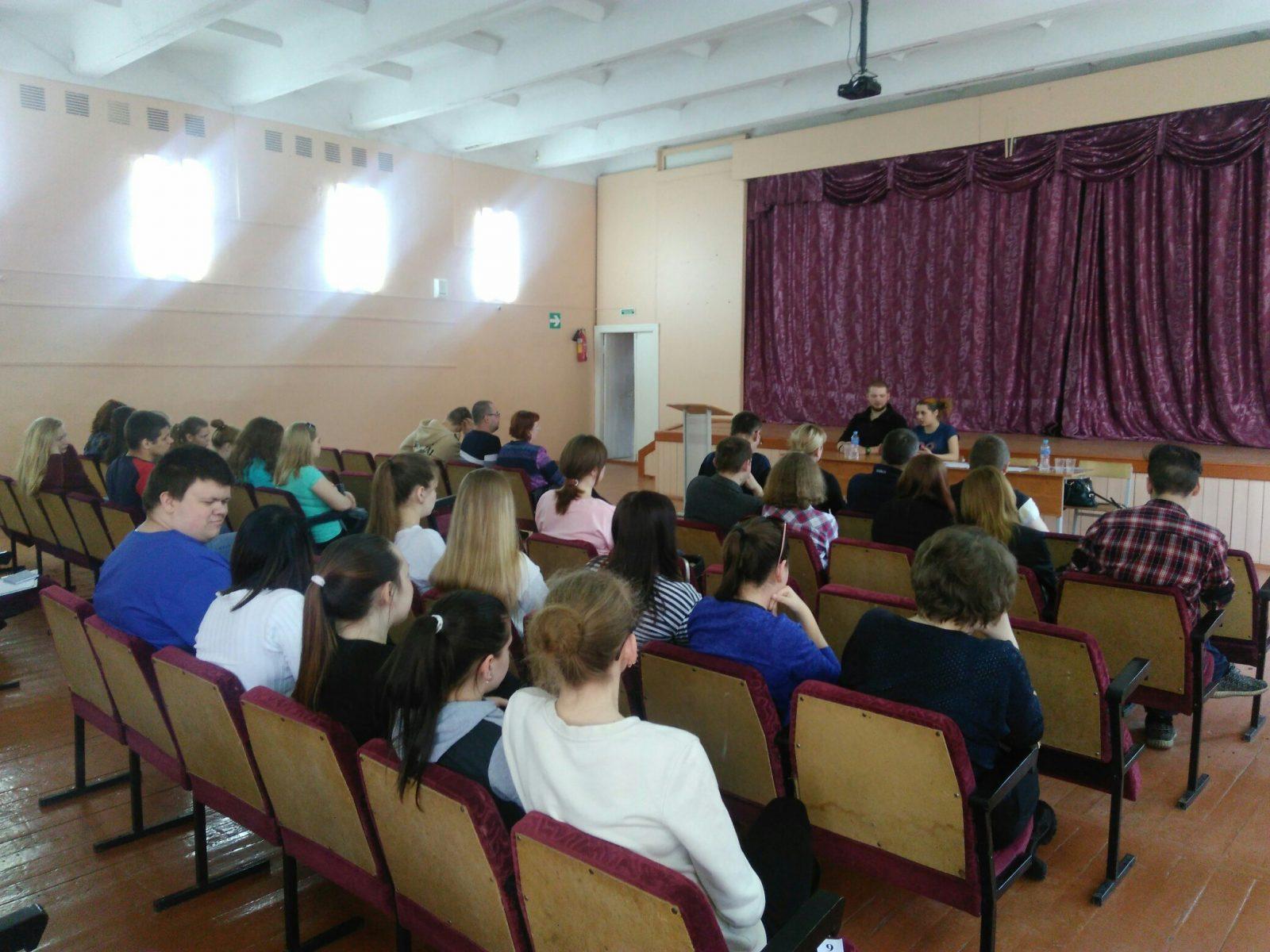 Жителей Бежецка познакомили с работой ВПСО