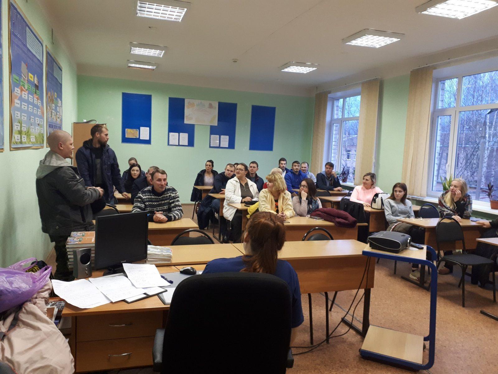В Бежецке состоялось учебное мероприятие от ВПСО