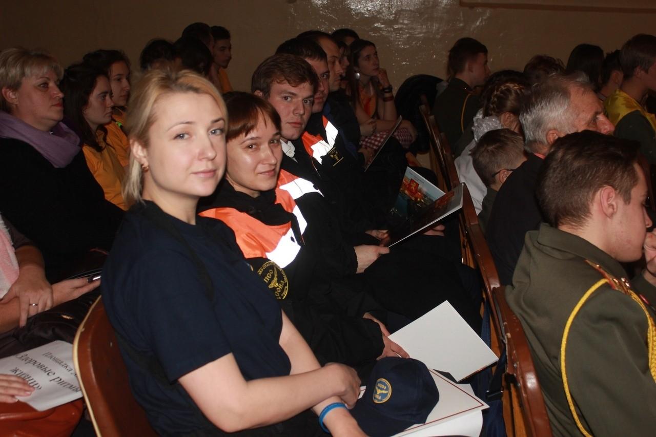 Волонтеры Ржевской