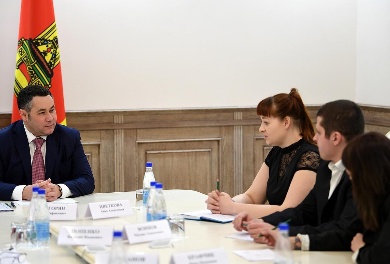 Игорь Руденя обсудил с представителями поисково-спасательного отряда «Сова» развитие добровольческого движения в Тверской области