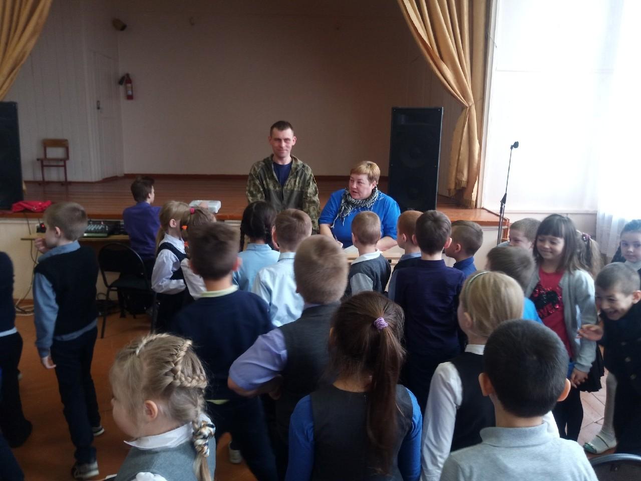 Профилактическая беседа в школе №1 г.Кашина