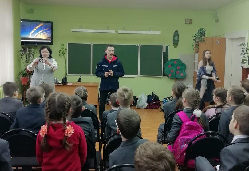 Профилактическая беседа во 2х классах гимназии №12 города Твери