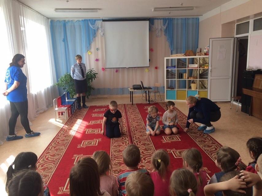 Профилактическая беседа в Квакшинском детскому саду
