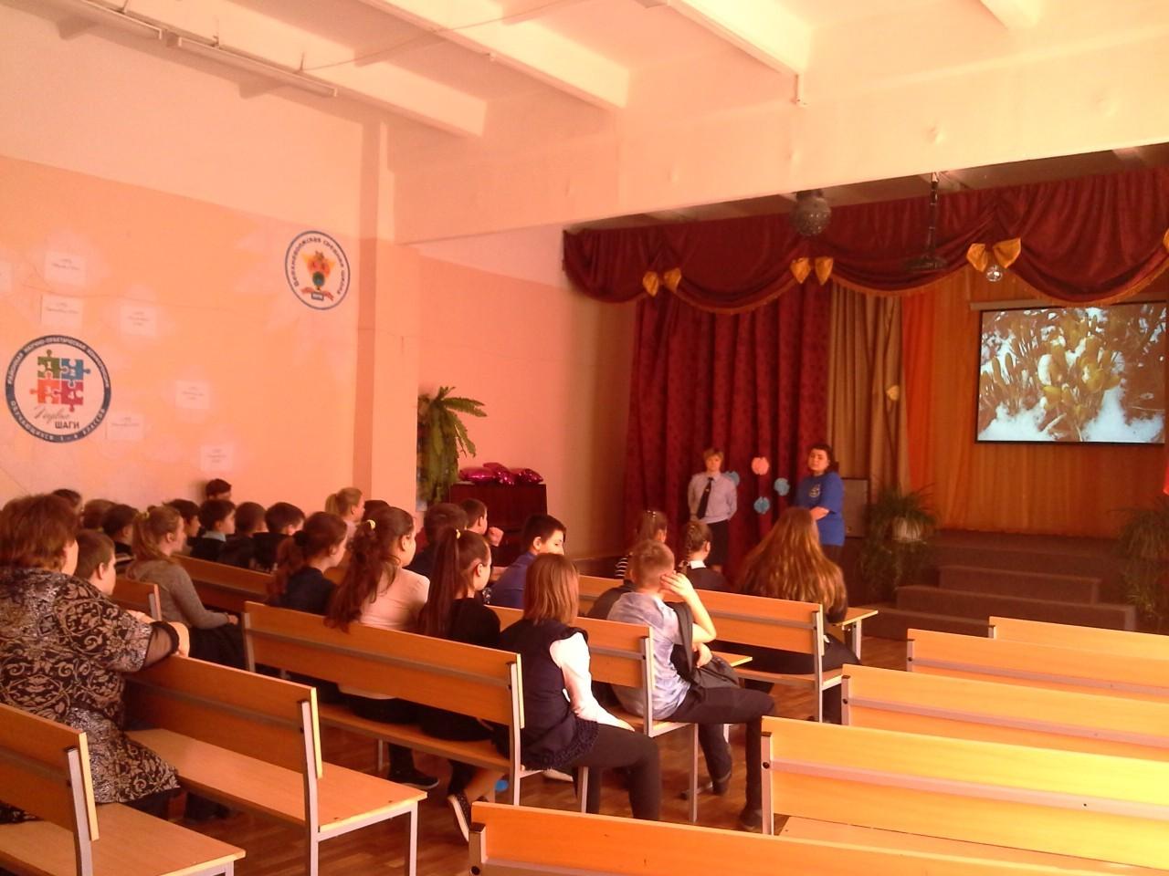 Профилактическая беседа с 16-летними подростками в Верхневолжской СОШ