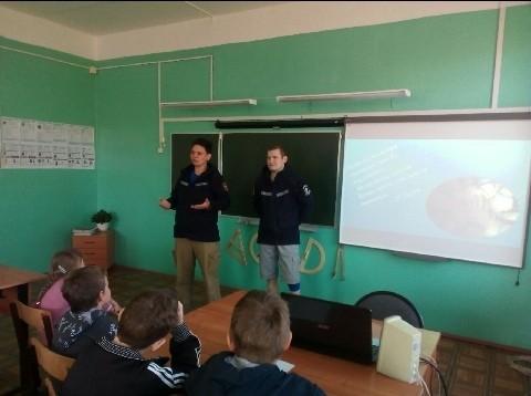 Профилактика в школе в Старом Мелково