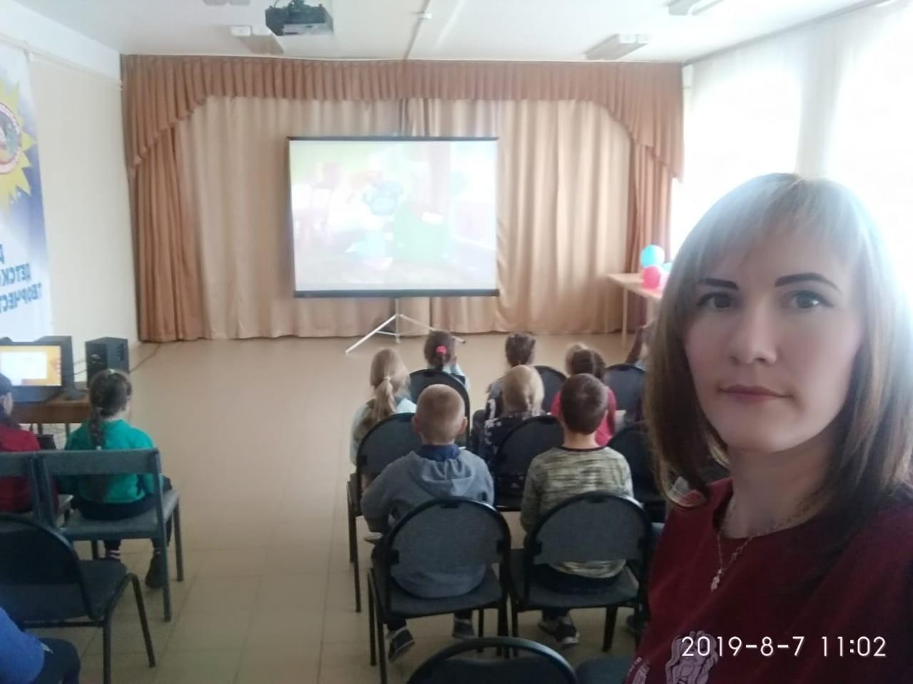 Профилактика с воспитанниками ДДТ г.Удомля