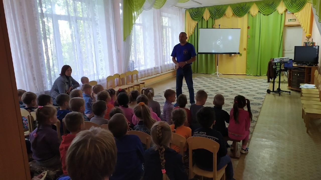 Профилактика в детском саду №19 города Ржева