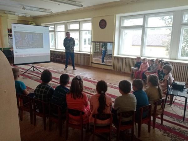 Профилактика в детском саду №10 города Кашина