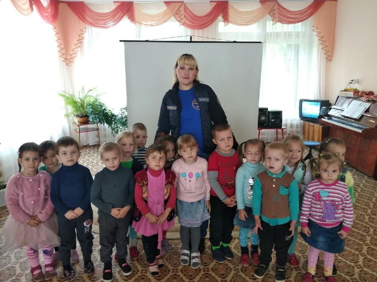Профилактика в детском саду №5 города Бежецка