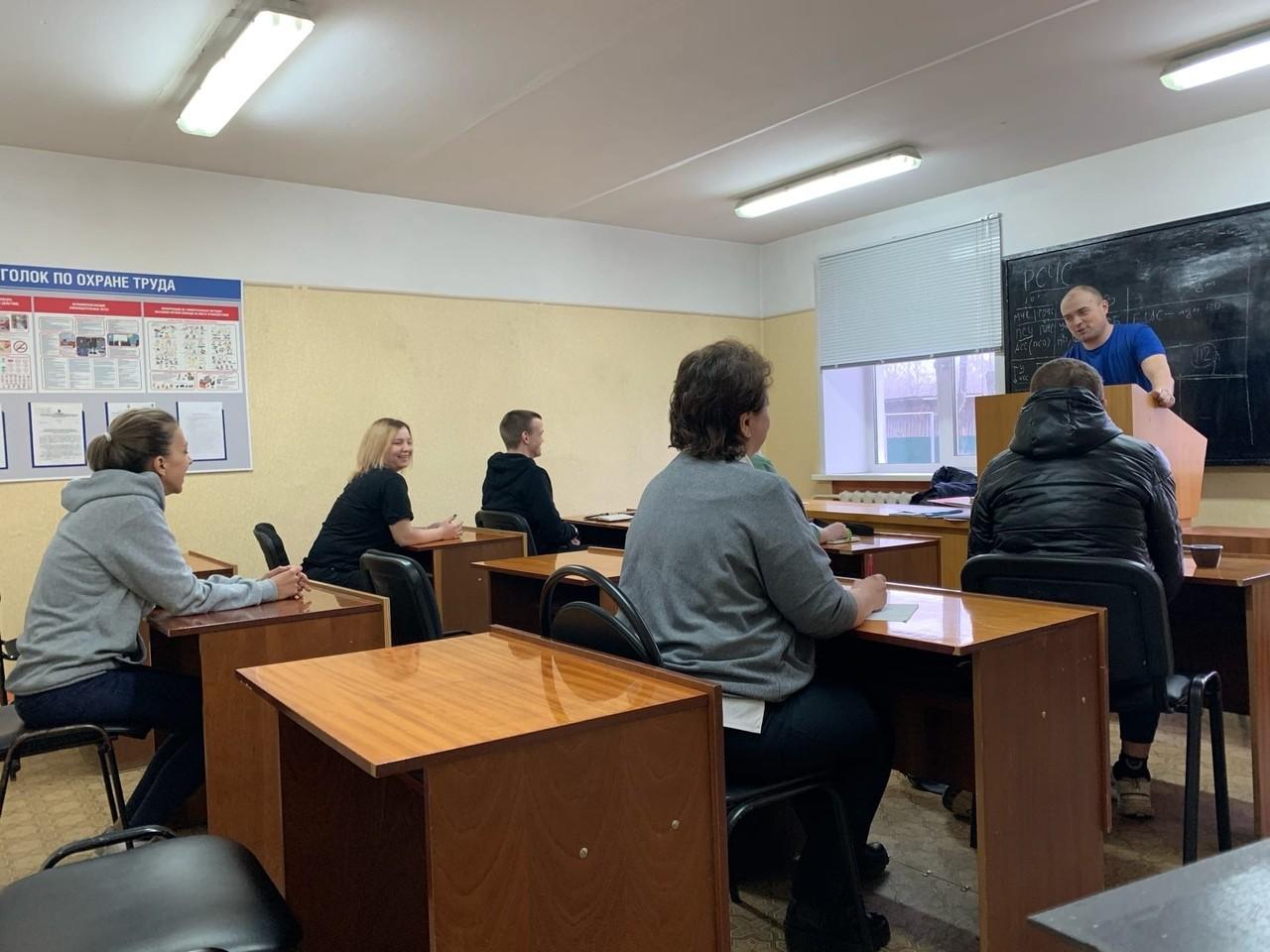 В Кимрах для волонтеров состоялась лекция по вопросам взаимодействия отряда с РСЧС