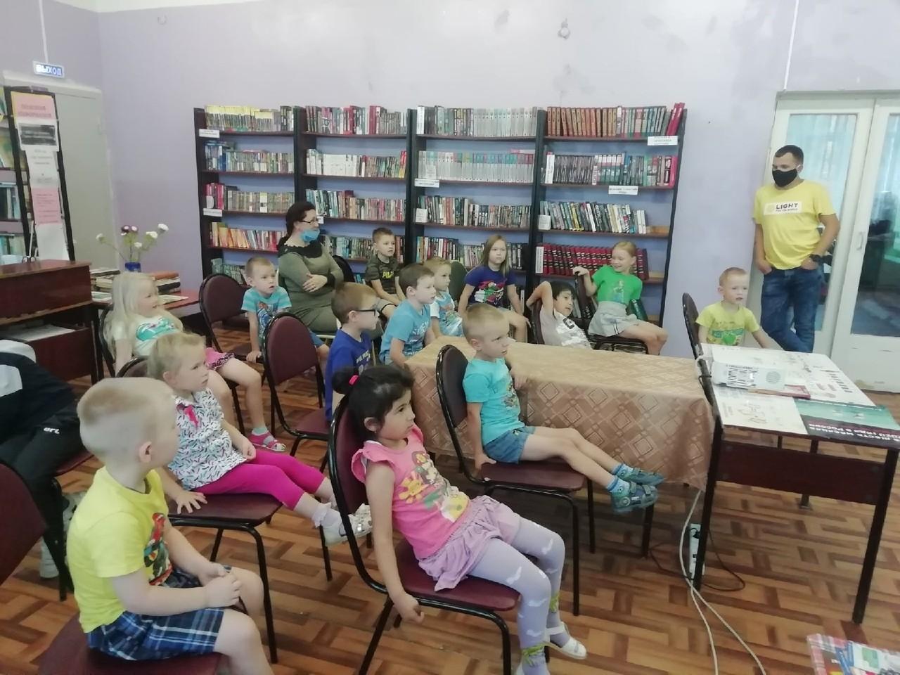 Лекция по безопасности в Афимьинском детском саду