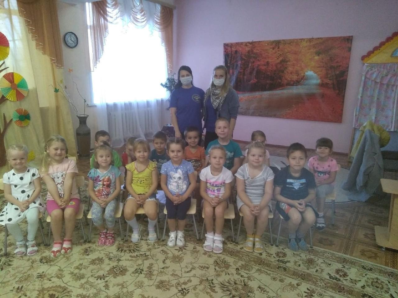Профилактика в детском саду пос. Зеленогорский Вышневолоцкого района