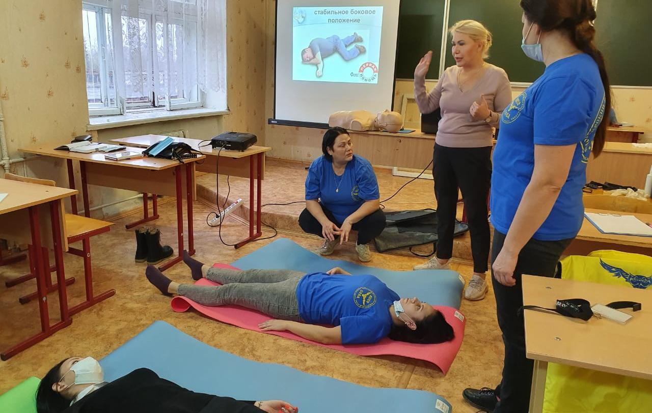 Торжокские волонтеры прошли обучение по оказанию первой помощи