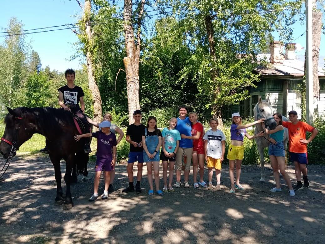Профилактика с лошадками